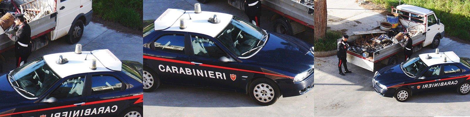 carabinieri camion zingari
