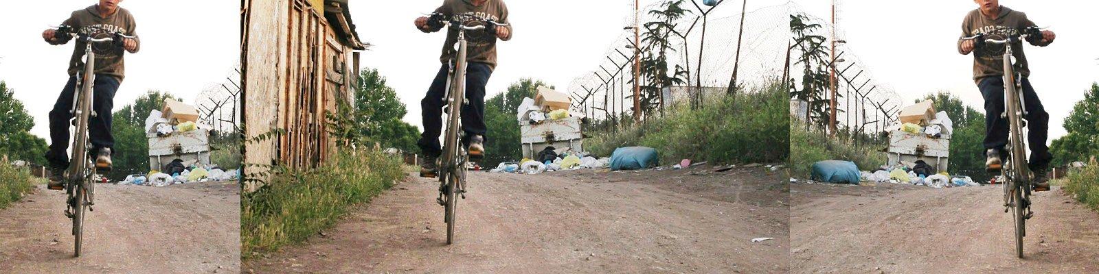 bicicletta zingara